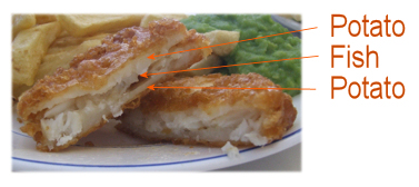 Yorkshire Fishcake - looks good enough to eat!